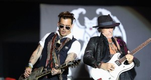 Jhonny Deep y Joe Perry, con Hollywood Vampires Getty Images