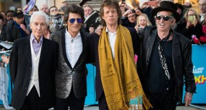 Charlie Watts, Ronnie Wood, Mick Jagger y Keith Richards miembros de Rolling Stones. SAMIR HUSSEIN