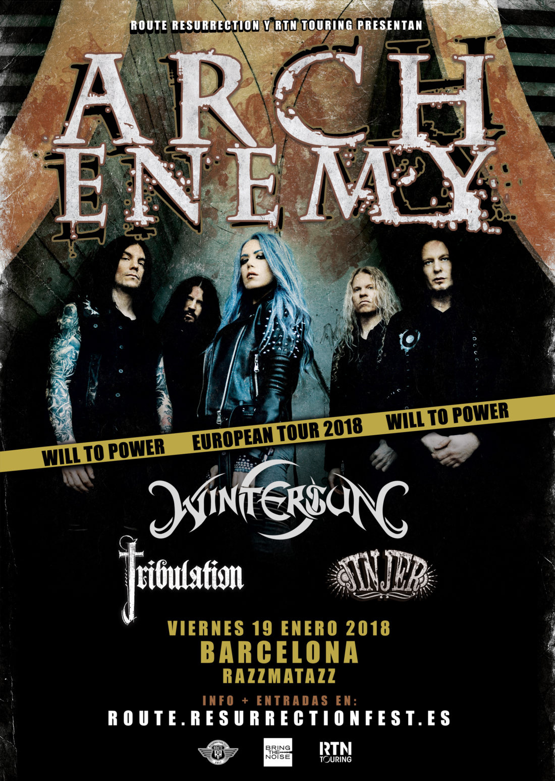 Route-Resurrection-2018-Arch-Enemy-Poster