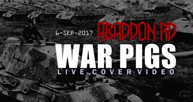 war pigs liver cover video abaddon rd